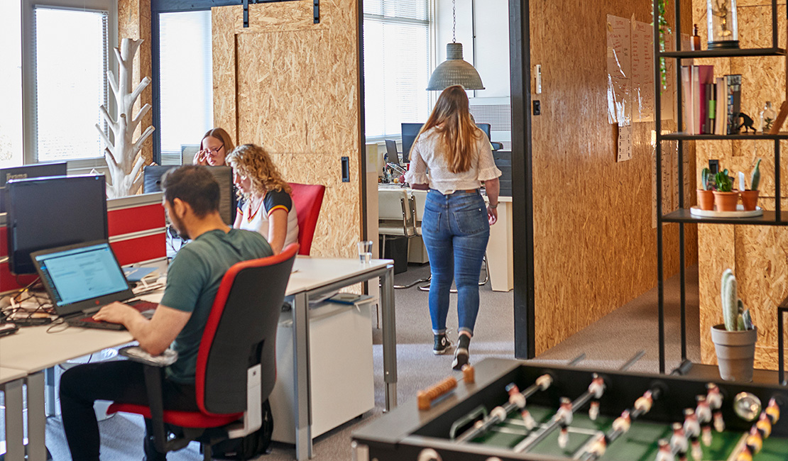 Afbeelding van het kantoor van Bubblefish