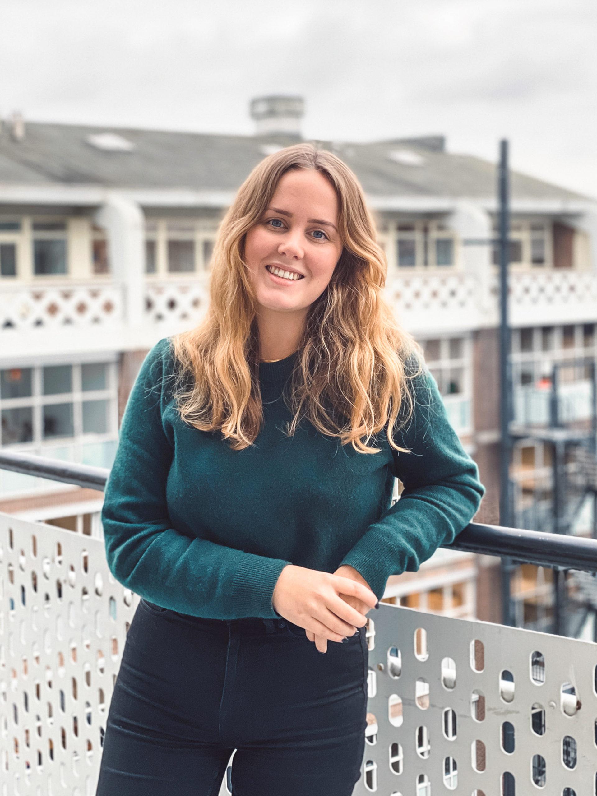 profielfoto werknemer, Anne Marlies van 't Hoen. ux designer