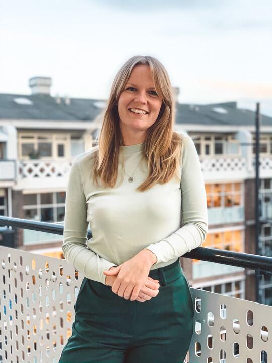 profielfoto werknemer, Renee van Dijk, project manager